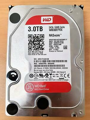 Western Digital WD RED 3TB NAS HDD  (2 available) WD30EFRX