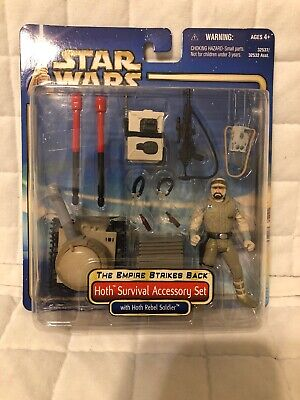 Star Wars Empire Strikes Back Hoth Survival Action Figure Accessory Set Nib