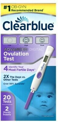 Clearblue Advanced Digital Ovulation Test-20 Tests-2 Month Supply Exp: Choose