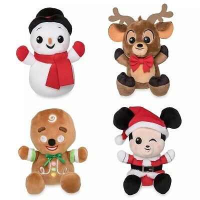 Disney Parks Wishables Mystery Plush Micro Holiday Plush Merry Christmas Series