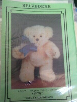 Craft room clean out - Teddy Bear Pattern - Belvedere by Gerry Warlow
