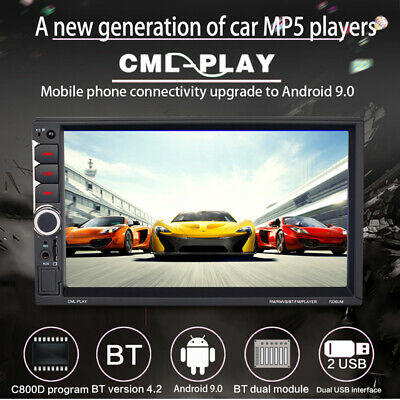 """Universal 7""""Car Bluetooth Touch Screen Android&IOS With Reversing Car MP5 Player"""