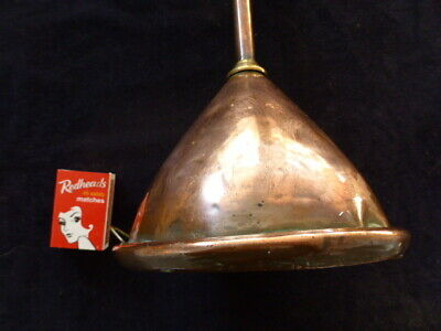 Vintage/Antique Copper Funnel (kitchen or garage) lot 52