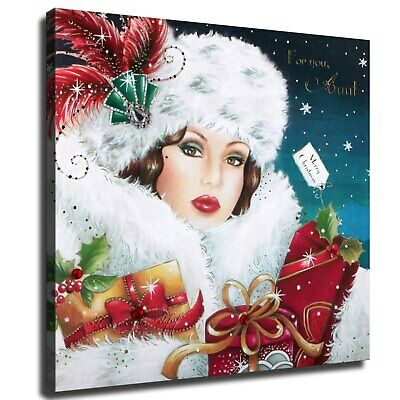 """12""""x12""""Christmas costumes HD Canvas prints Painting Home Decor Picture Wall art"""
