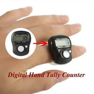 Electronic Row Counter Finger Ring Digital Marker LCD Hot Tally Random Coun A0K4