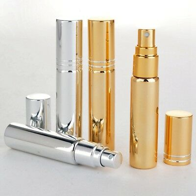 10ml Refillable Perfume Travel Scent Aftershave Atomizer Bottle Pump Spray Set