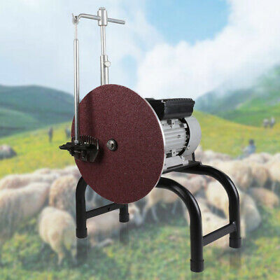 Electric Sheep Goat Clipper Grinder Shears Grinding Sharpener Machine 26CM Disc