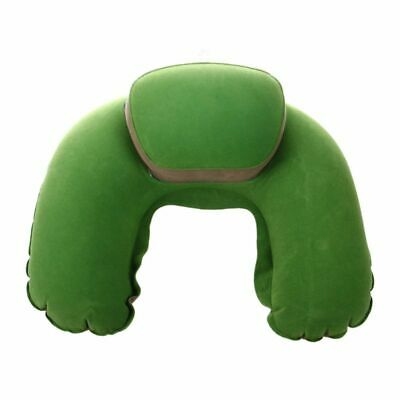 Inflatable Neck Pillow Soft Travel Air Cushion Sleep Support for Flights Ca Y4L2