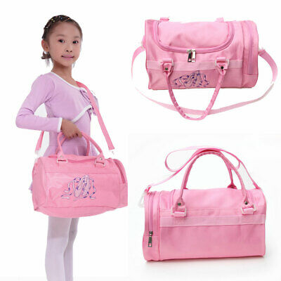 Girls School Shoulder Bag  Gymnastics Handbag Tote Dance Duffle Bag Ballet Kids