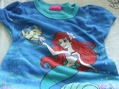 disney princess tshirt and pretty netted skirt and lining age 5/6 years