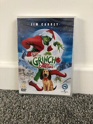New Sealed The Grinch Stole Christmas (DVD, 2004)