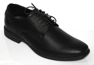 Roc Folio Black School Shoe