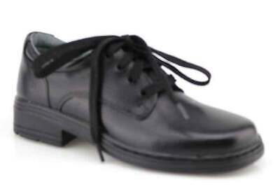 Clarks Infinity Junior Black School Shoe
