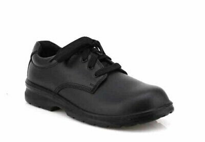 CLARKS LITERACY in BLACK - E