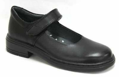 Clarks Indulge Junior Black School Shoe