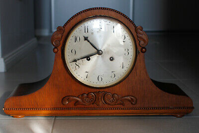 Art Deco Junghans  Mantel Clock with chimes .