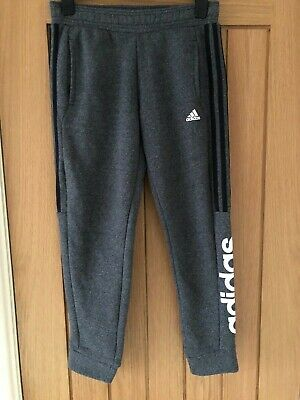 ADIDAS SWEAT / TRACK PANTS YOUTH / KIDS AGE 11-12Y Grey