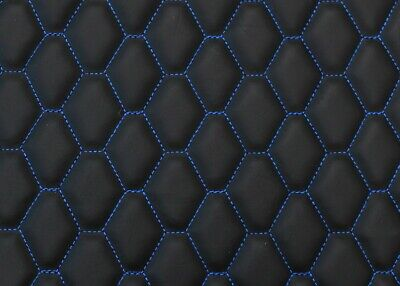 Quilted Faux Leather Vinyl Car Seating Vehicle Upholstery Fabric