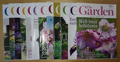 RHS The Garden Magazine - 12 Monthly Editions - YEAR 2016