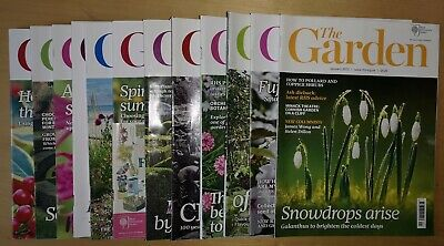 RHS The Garden Magazine - 12 Monthly Editions - YEAR 2013