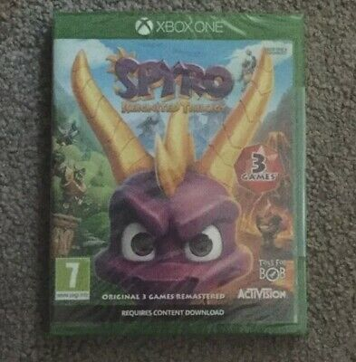 Spyro Reignited Trilogy for Xbox One New & Sealed