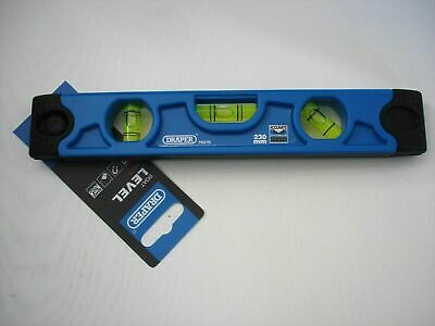 DRAPER 79579 230 mm BOAT SPIRIT LEVEL with MAGNETIC BASE