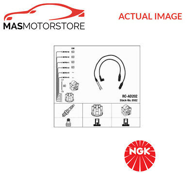 0502 Ngk Ignition Cable Set Leads Kit P New Oe Replacement