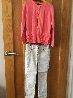 Girls Cardigan (Autograph) And Trousers (Star By Julien Macdonald) Age 5-6