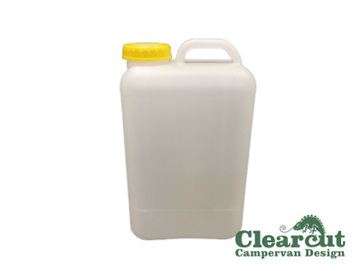 19L Jerry Can Water Container, Campervan Fresh Water Or Waste (Solid Cap)