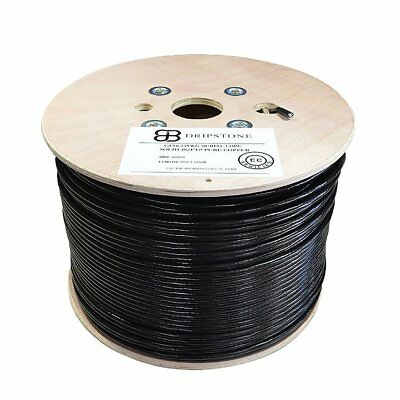 Open Box Cat6 1000Ft Sf/Utp Direct Burial Cable 550Mhz Pure Copper 23Awg Etl