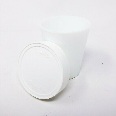 Salton Yogurt Maker Single Replacement Jar With Lid, White