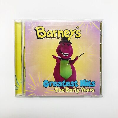 Barney's Greatest Hits: The Early Years by Barney - Complete with Case