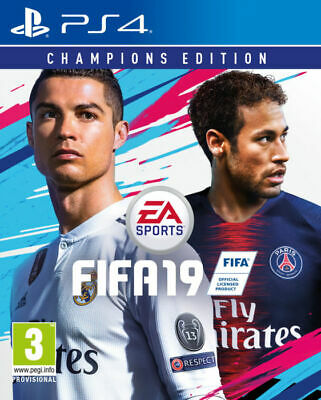 FIFA 19 Champions Edition for Playstation 4 PS4 - UK - Grade A+ - FAST DISPATCH