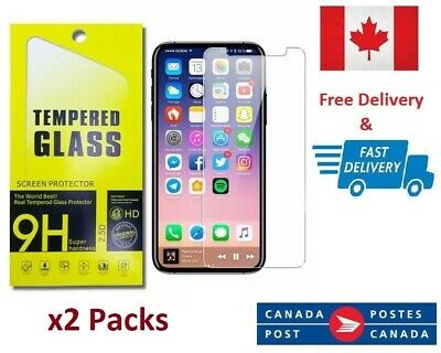PREMIUM TEMPERED GLASS 9H 3D SCREEN PROTECTOR FOR iPHONE 11 PRO MAX (2 Pack)