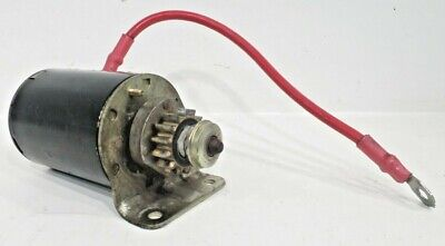 Starter Motor 14 Tooth Suits Briggs /& Stratton I//C Models Replaces OEM 693551