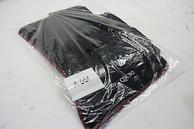 New Oem Floor Mats Front Rear Black Red Piping Infiniti Qx30 17-19 T99E2-5Dc0A