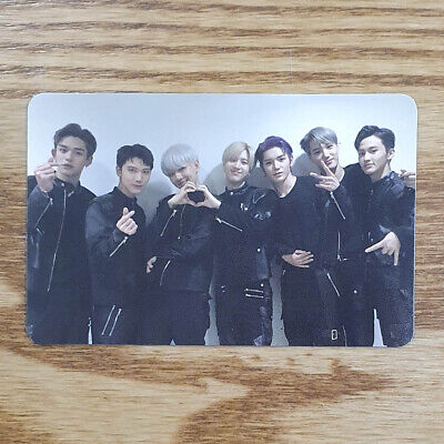 Group Cut Official Photocard SuperM 1st Mini Album Kpop Genuine Super M