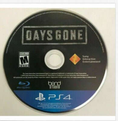 Days Gone Sony PlayStation4 PS4 Playstation 4 Video Game DISC ONLY