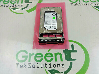 "Dell 6Tb 3.5/"" SAS SED enterprise hard drive Seagate ST6000NM0104 D9MR9 w//tray"