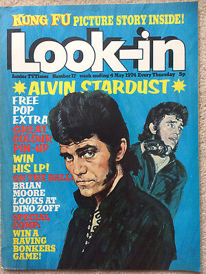 Look In Magazine 4 May 1974 #17   Alvin Stardust