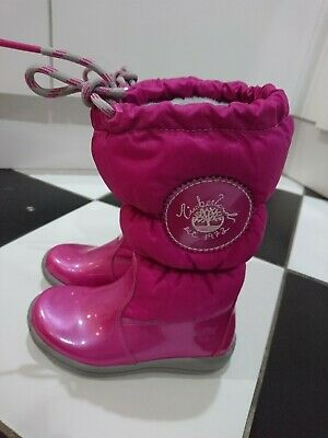 Timberland girl snow boots size UK 9.5 EUR 27 infant BNWOT