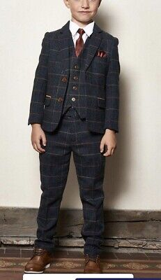 Marc Darcy Boys 3 Piece Suit Age 8 Years