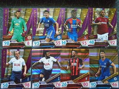 topps match attax ultimate 2018/19 pick any 8 from list elite captain sketch etc