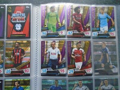topps match attax ultimate 2018/19 premier elite salah liverpool #156