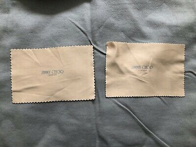 BN Jimmy Choo Glasses Cloths x 2