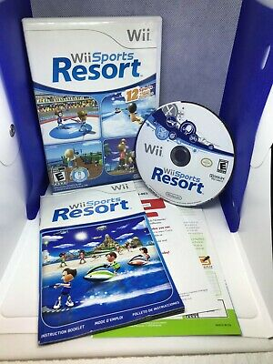 Wii Sports Resort (Wii) (Tested & Working) (Manual + Club Nintendo Booklet)