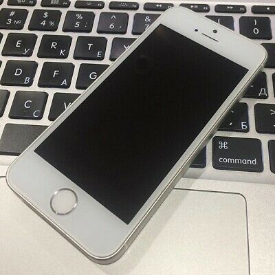 Apple iPhone SE 64GB - Factory Unlocked - Silver - Excellent Condition