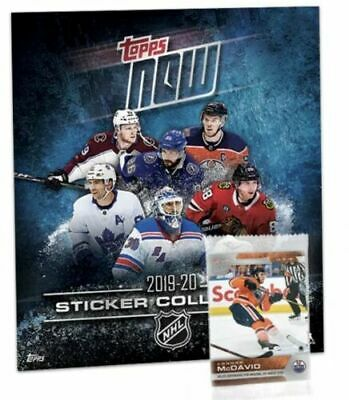 2019-20 Topps Now NHL Hockey Stickers Week 1 Pack Set Album Sealed Kakko McDavid