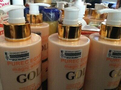 New PURE EGYPTIAN GOLD MAGIC WHITENING BODY AND FACE LOTION