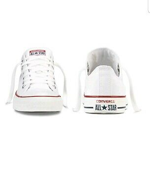Converse All Star Chuck Taylor Low Basso Bianco Optical N. 36